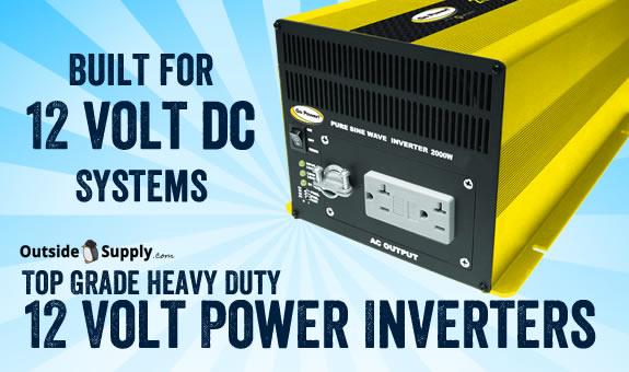 12 volt power inverters