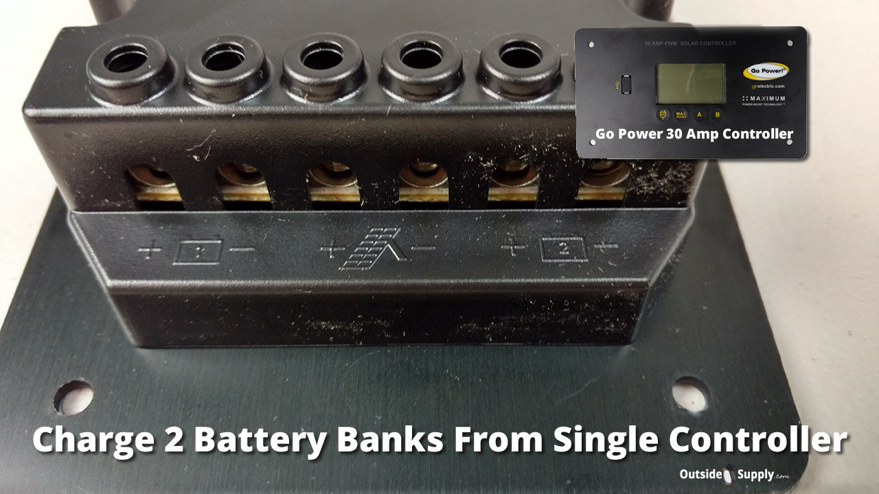 How To Charge Two Batteries In Your Rv With One Solar Panel
