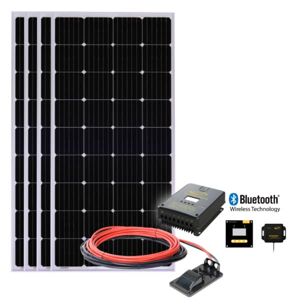 off-grid solar system setup for your RV, camper or cabin