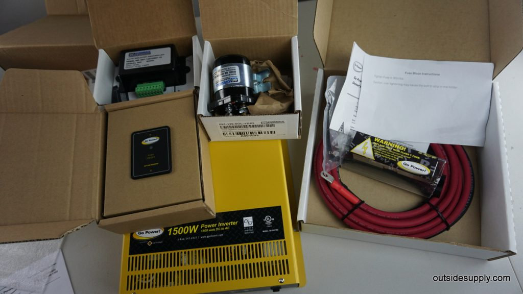 A proper mobile power kit includes all items required for a safe install in your fleet vehicle.