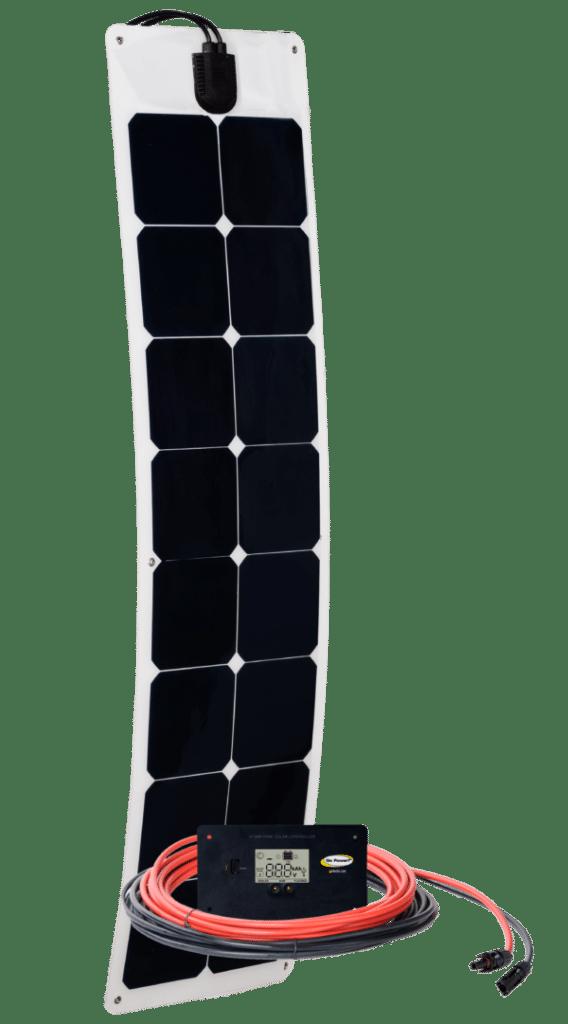 55 watt flexible solar kit by go power