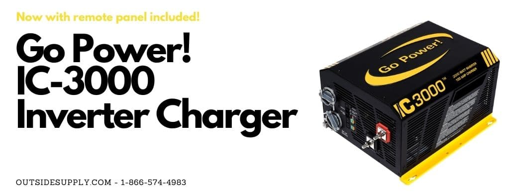 Go Power Inverter Charger Package 3000 watt Model