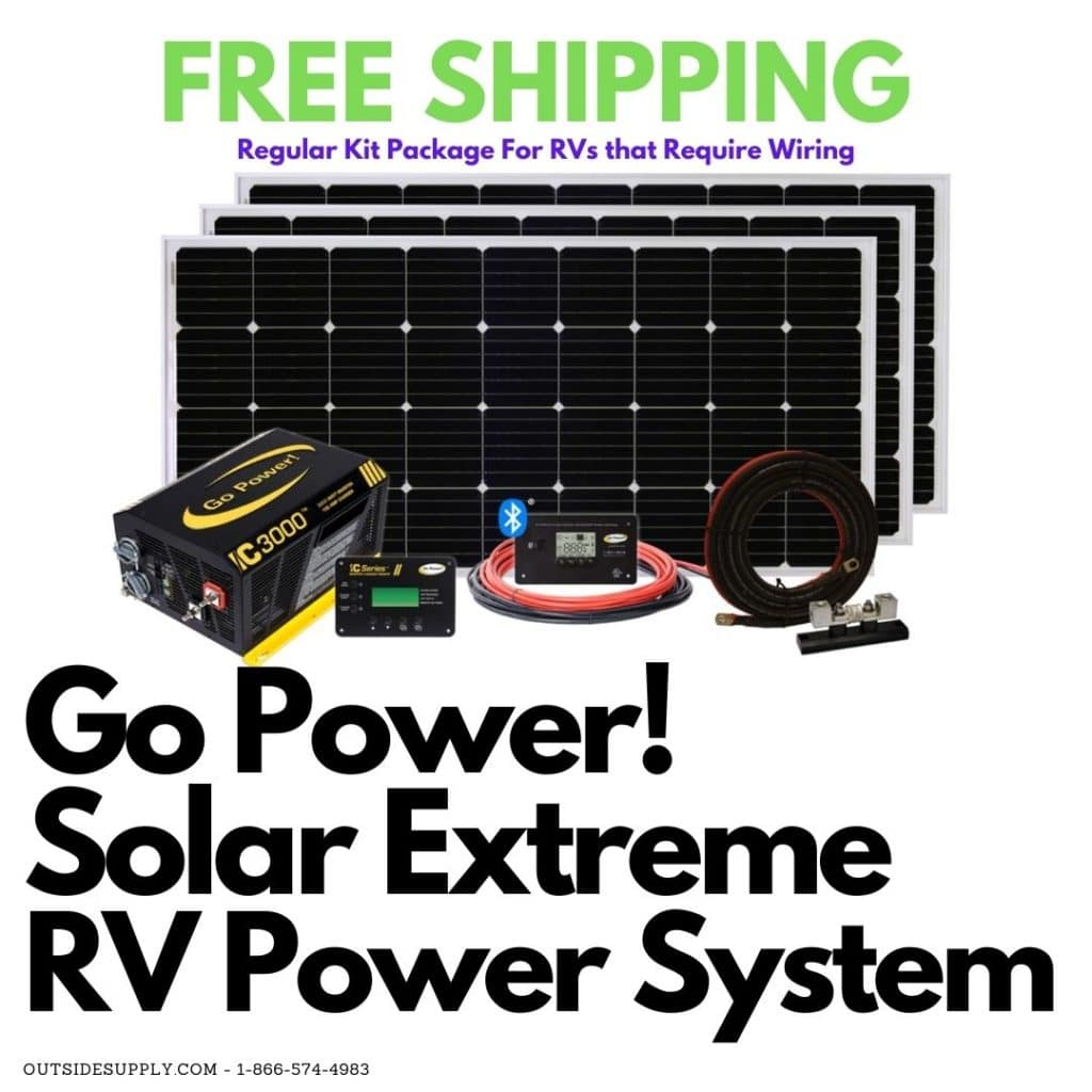 Solar Extreme retail complete RV power system