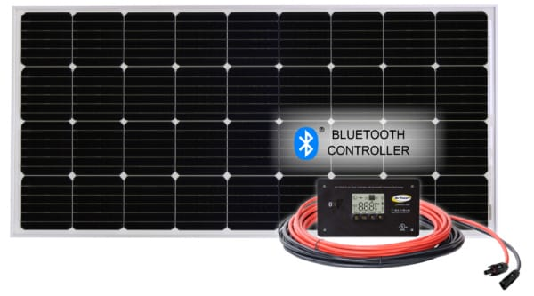 100 watt solar kit with bluetooth controller