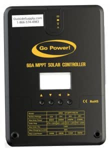 Go Power MPPT Pro 60 Solar Charge Controller from Go Power