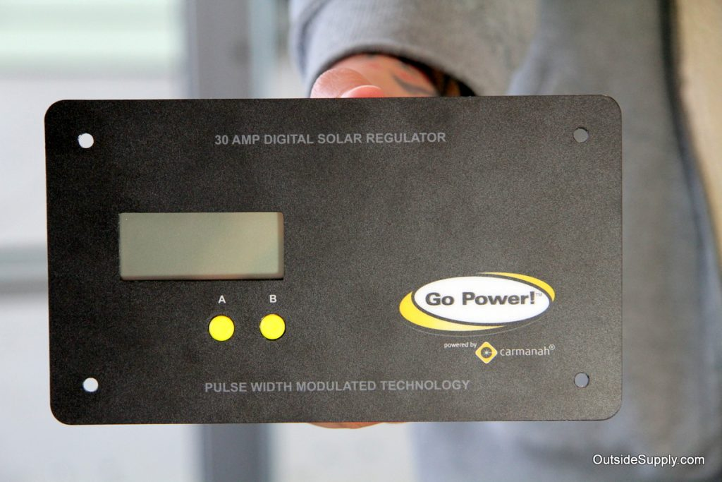 GP PWM 30 Charge Controller Solar 12 Volts