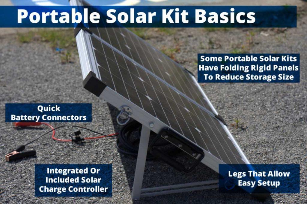 Portable Solar Kit Basics