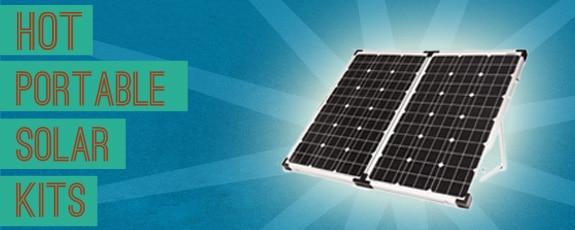 New Portable RV Solar Kits