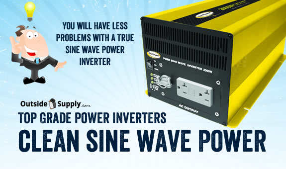 2000 Watt Travel Trailer True Sine Inverter
